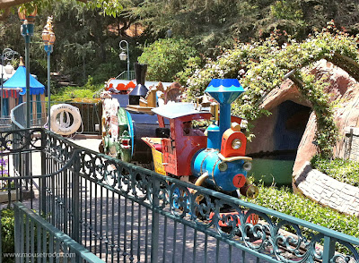 Casey Jr. Circus Train Disneyland Fantasyland
