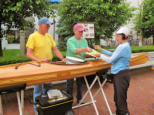 Last Chance at Handcrafted Cedar Kayak Raffle is Tuesday, Sept 16th, at Town Hall, 11 am to 3 pm