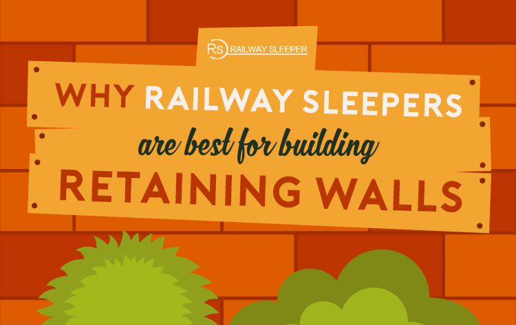 how to build a sleeper retaining wall