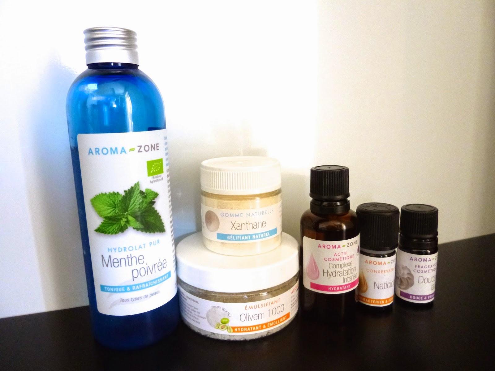 Cosmetique maison, soin visage