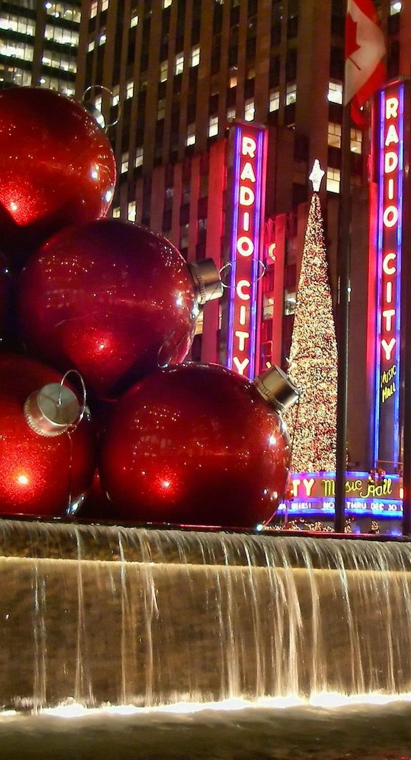 NYC Christmas Radio City Music Hall