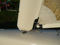 Rappel de mât aile du char à voile Classe 2 de Pierre-Yves Gires