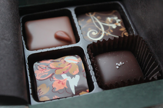 EH Chocolatier chocolates