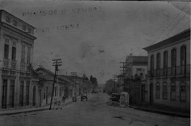 RUA XV DE NOVEMBRO EM 1912