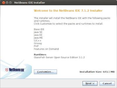 install netbeans IDE in ubuntu 12.04