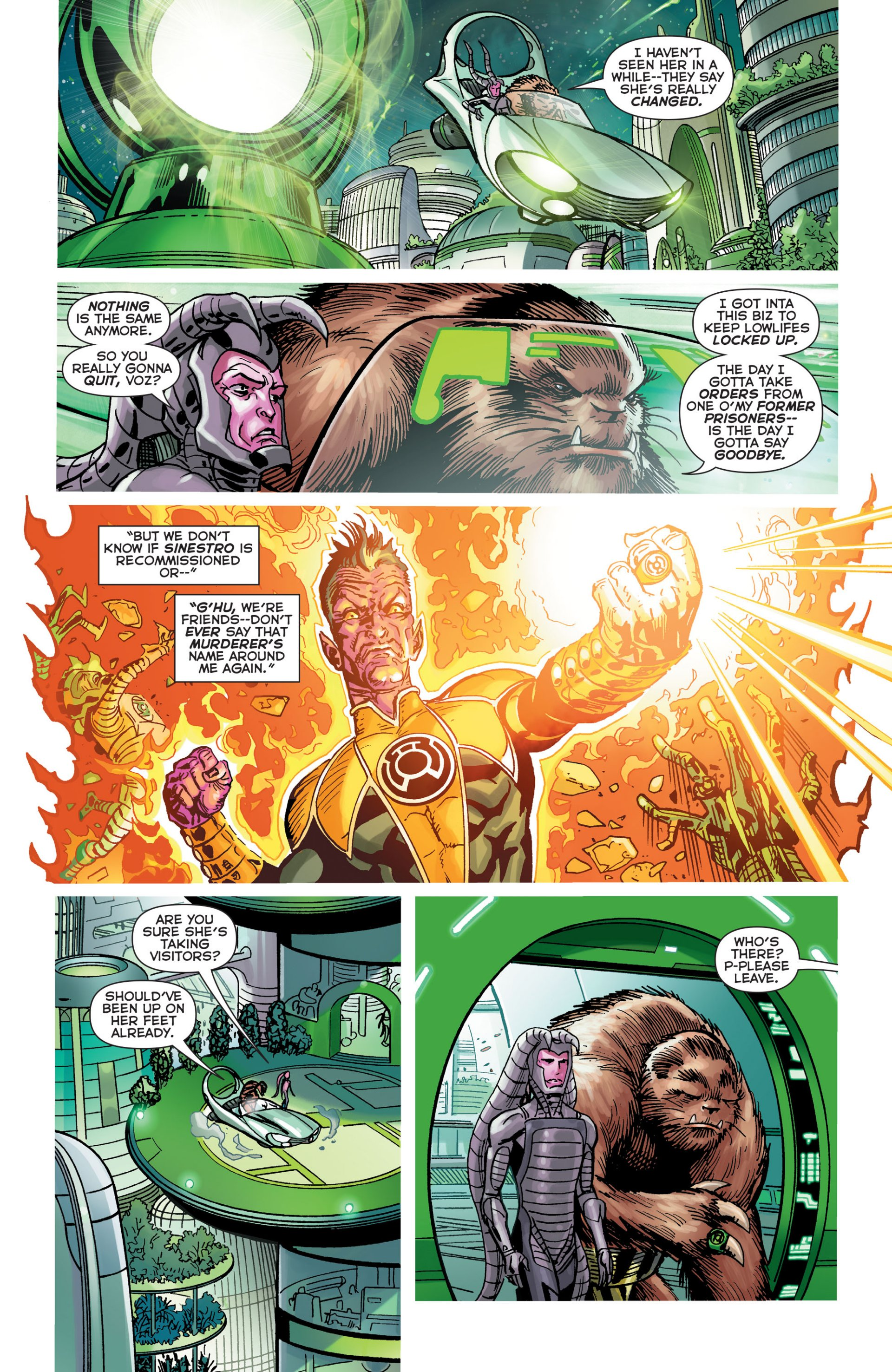 Read online Green Lantern Corps (2006) comic -  Issue #63 - 9