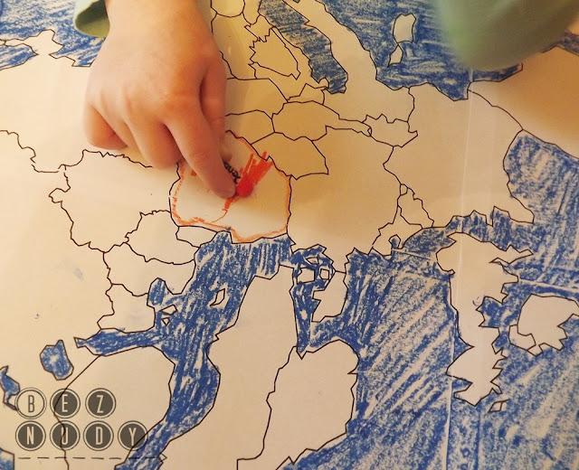 dziecko na warsztat, geografia