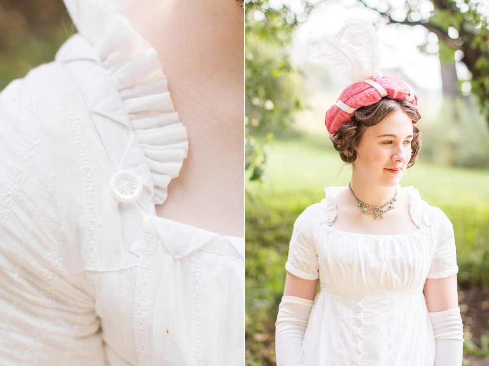 Mode de Lis: · My Very Own White Regency Dress ·