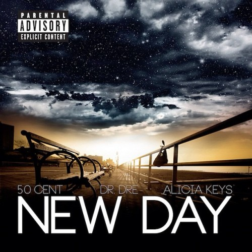 newdaysingle 500x500 50 Cent   &quot;New Day&quot; ft. Dr. Dre &amp; Alicia Keys