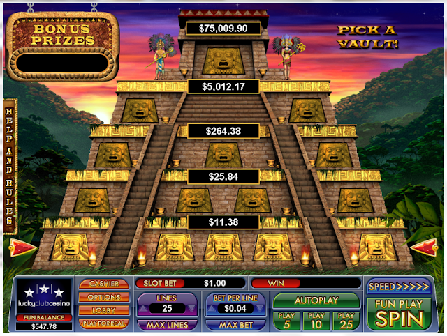 Greek Goddess Game Pyramid Feature