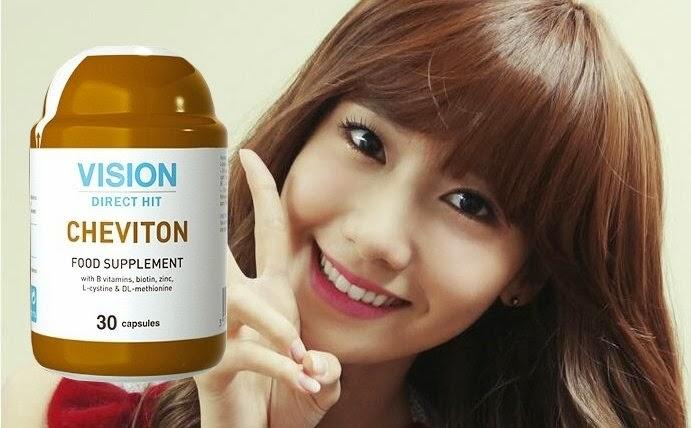 tác dụng thực phẩm chức năng Cheviton Vision sắc đẹp mái tóc