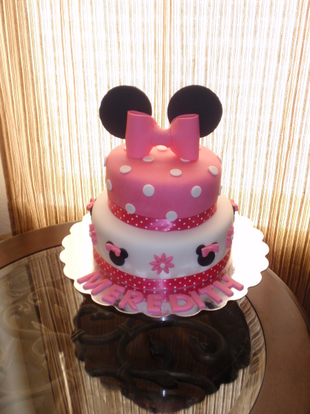 Torta Minnie Mouse Un Piso