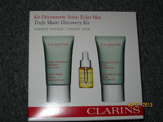 Clarins lotus oil blackheads