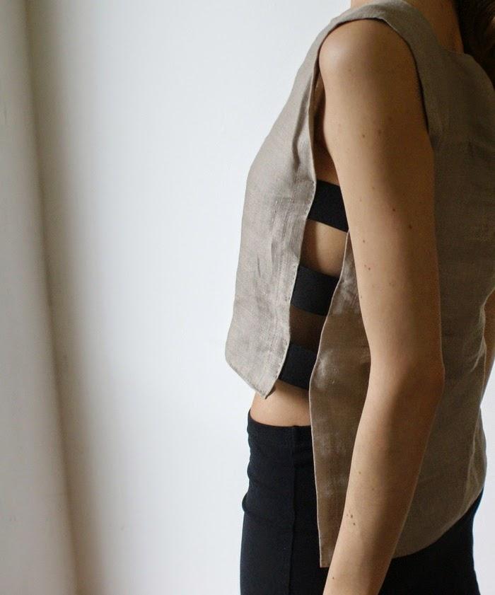 crop top diy cutout fashion