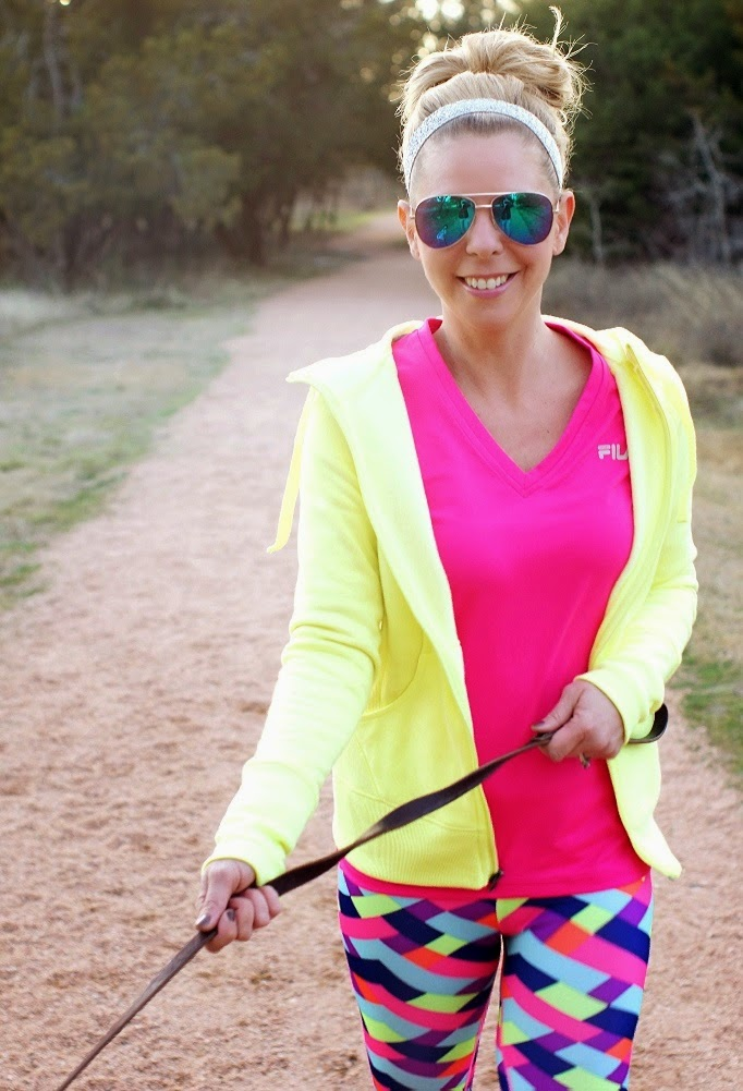 Bright and Bold Workout Wear 2015