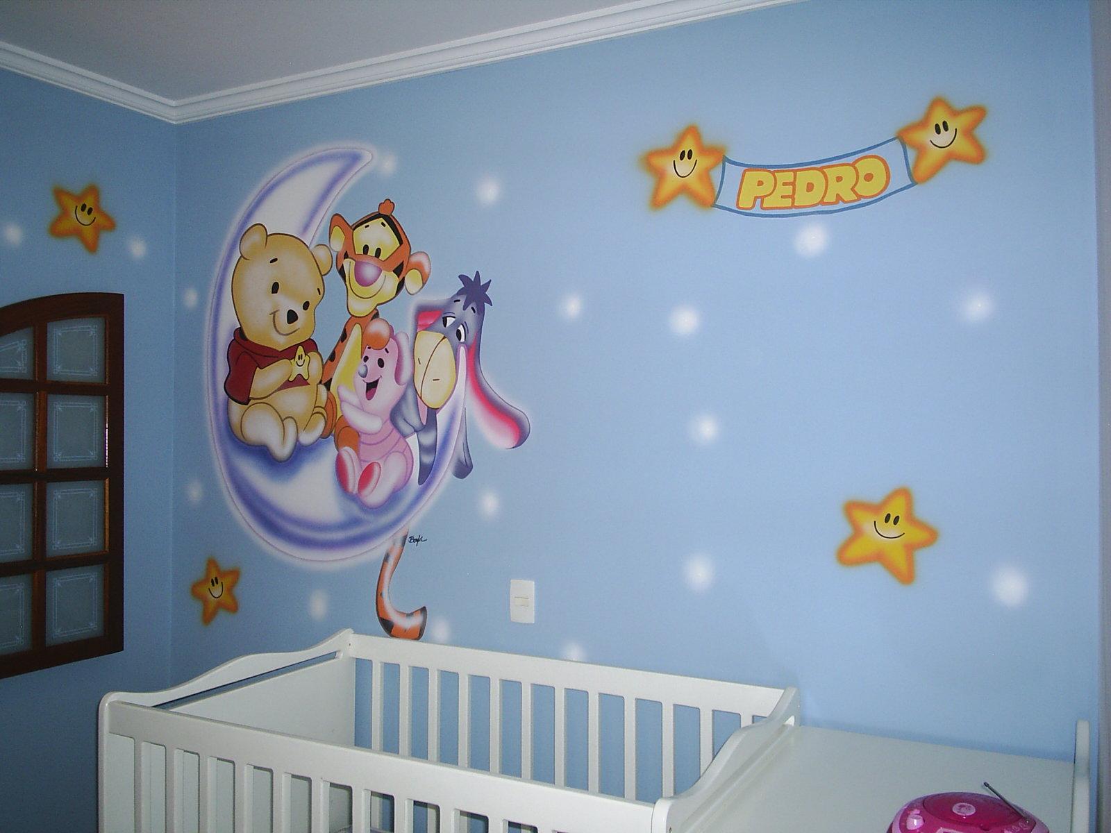 BONFÁ  Pinturas Artísticas  Artistic paintings Quarto de bebê