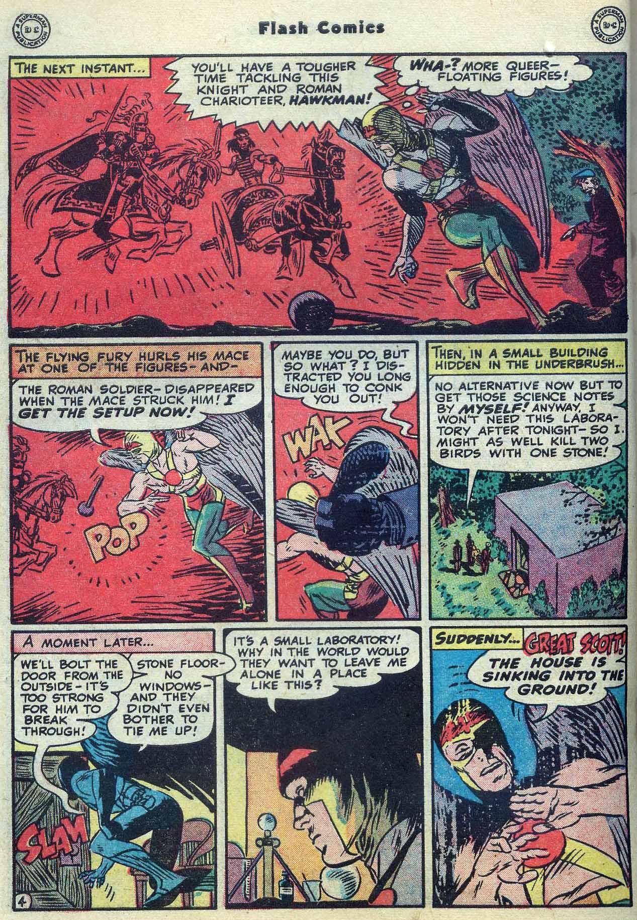 Flash Comics Issue #104 #104 - English 6