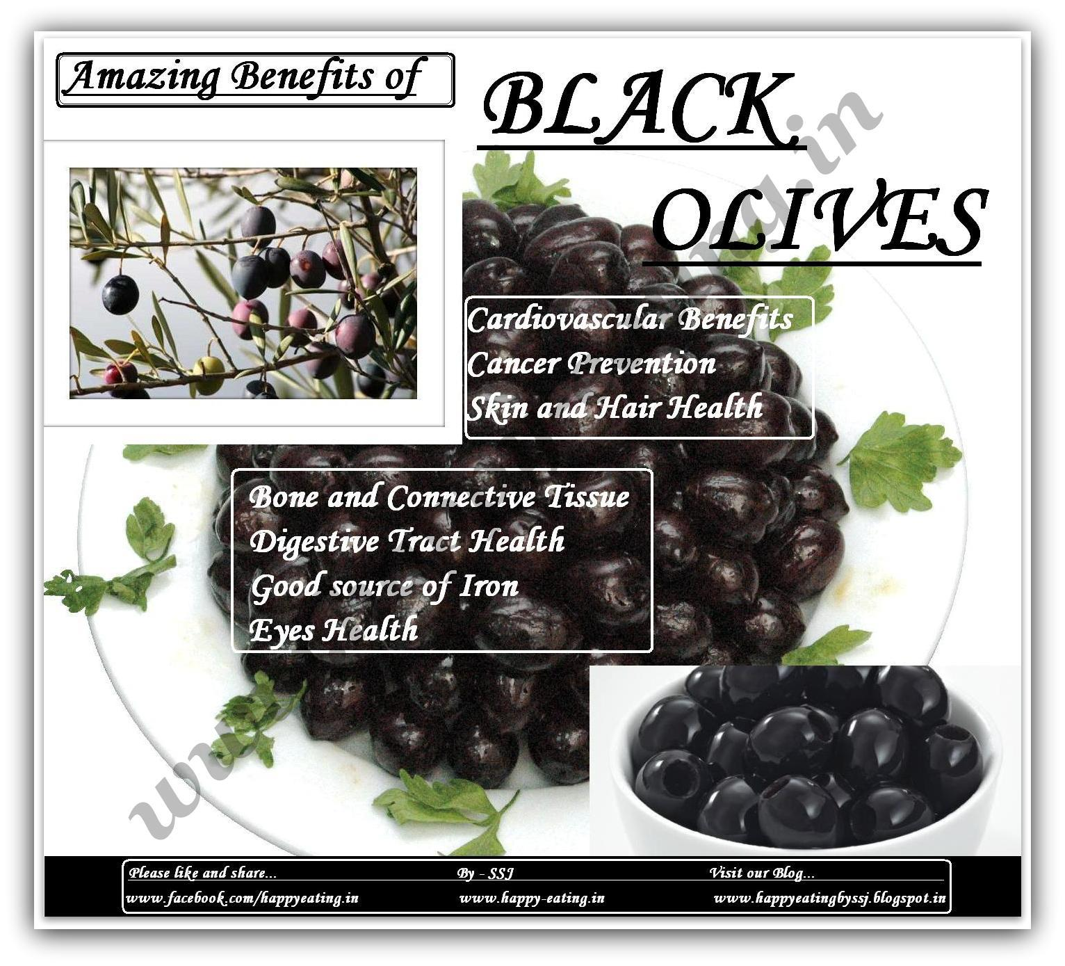 health Black benefits olives