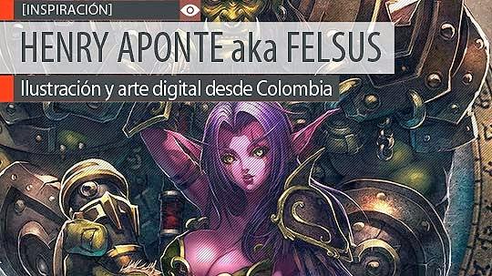 Ilustración y arte digital de HENRY APONTE aka Felsus