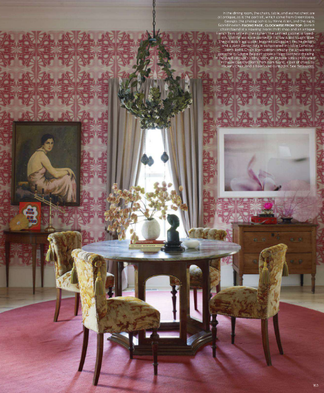 Splendid Sass DINING ROOMS OF LATE