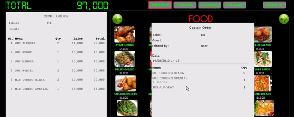 POS Software Restoran