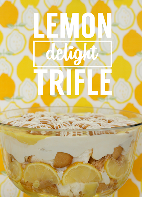 Lemon Delight Trifle | AKA Sunshine in a bowl. A crowd pleasing, no-bake dessert by Club Narwhal