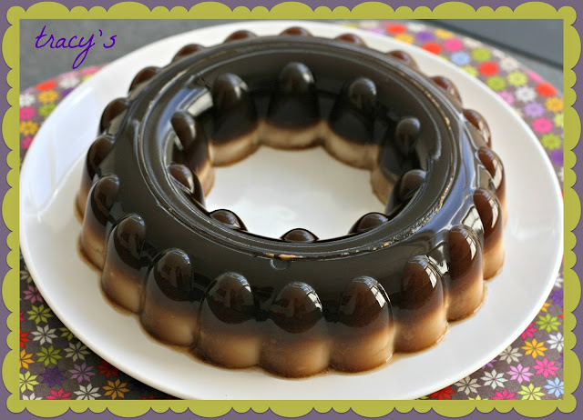 Coffee Coconut Agar Agar | Makanning