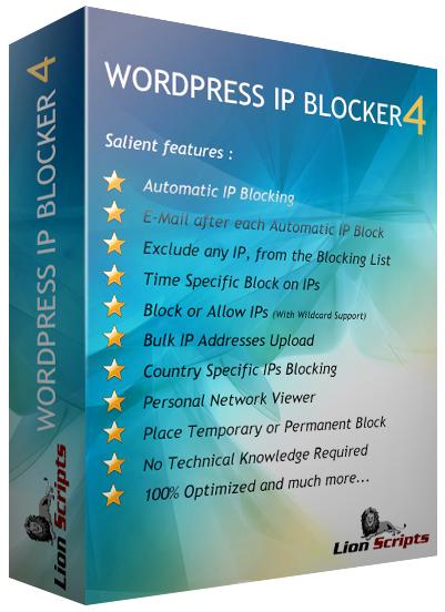 WordPress IP Blocker Pro