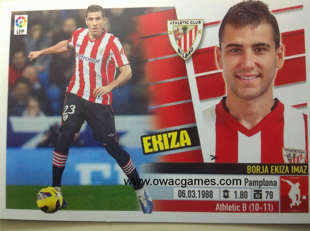 Liga ESTE 2013-14 Ath. Bilbao - 5 - Ekiza