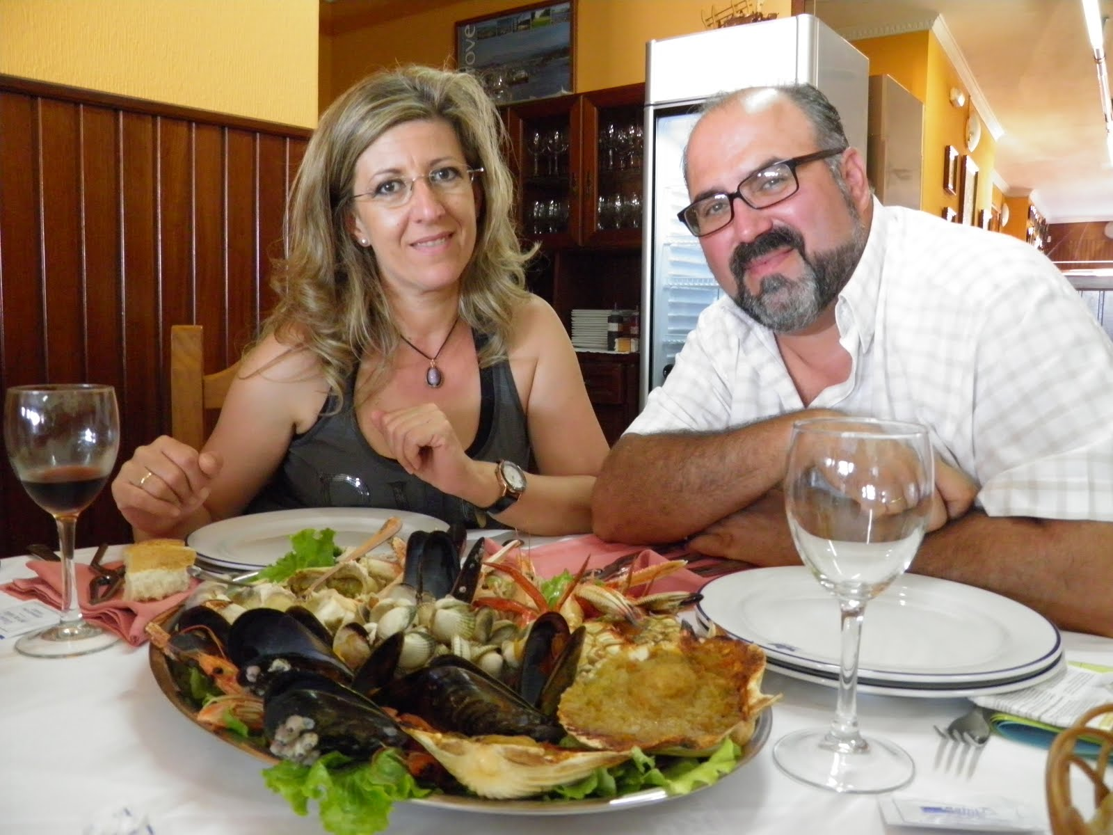 Ogrove (GALICIA 2011) pedazo de mariscada