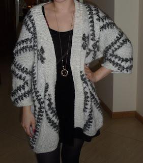 indiański sweter