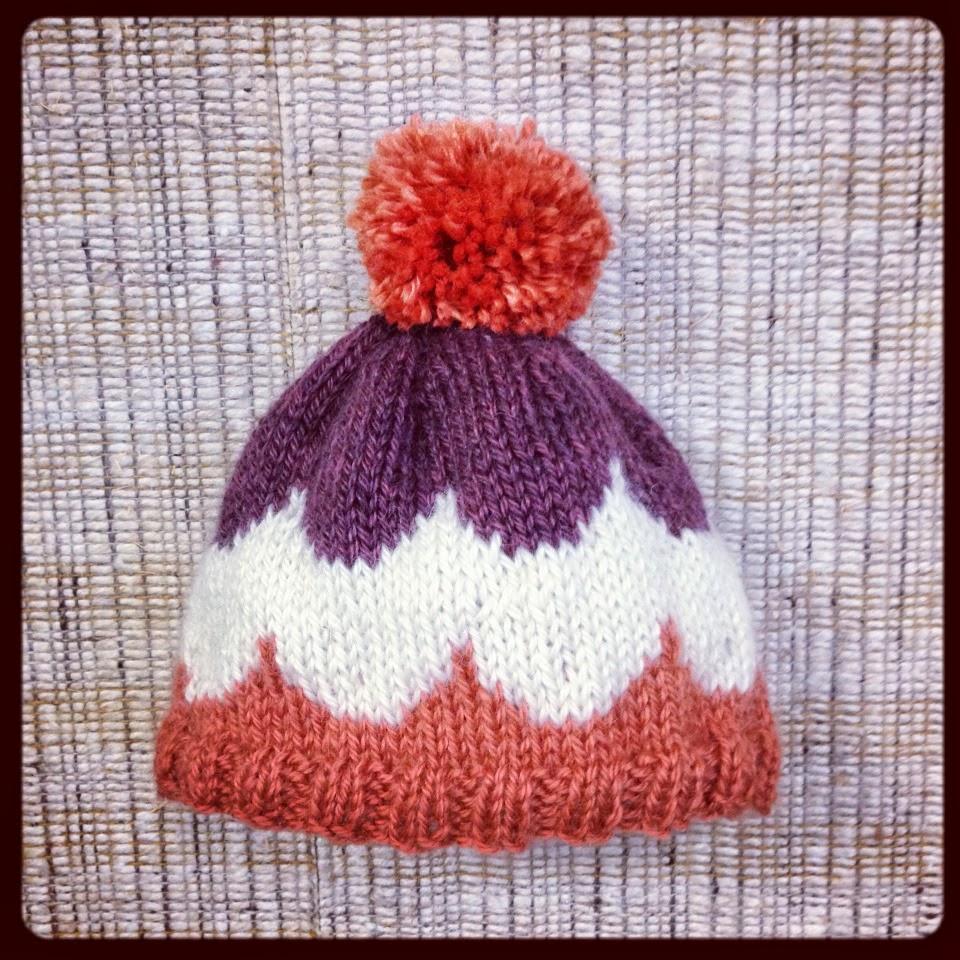 Knit Nat: Ice Cream Sundae Hat -- Free Pattern