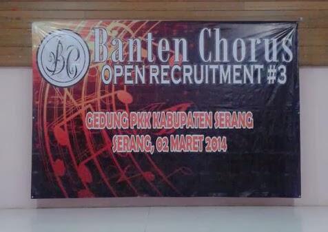 Banten Chorus Generasi Ke #3