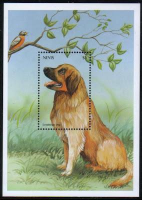 2000年セントクリストファー・ネビス レオン・ベルガーの切手シート