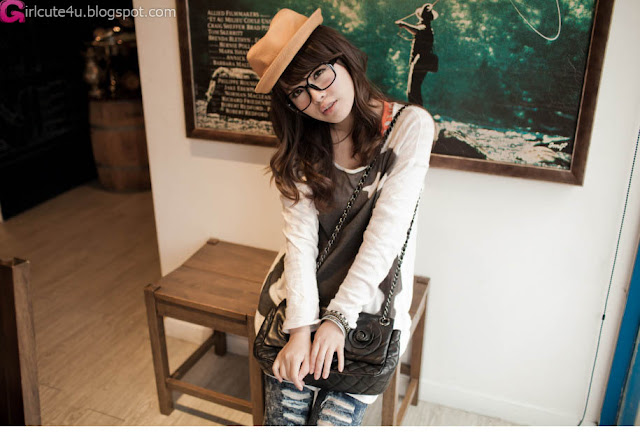 5 Lin Yu - Coffee, House, the Drop-very cute asian girl-girlcute4u.blogspot.com