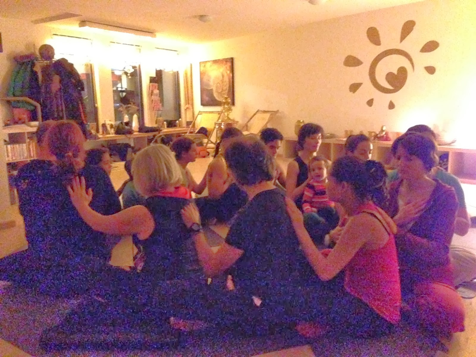 Acro Yoga Workshop beim HAPPY mit Werner Böhlke - Learning to be BASE ;)
