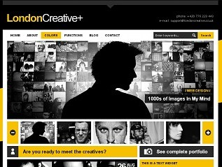 London Creative wordperss blogger templates