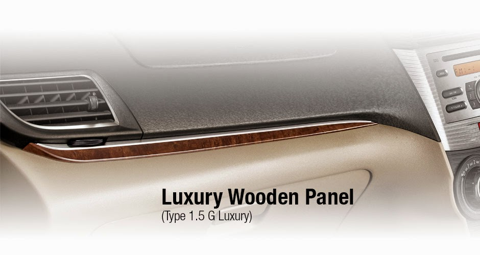 Luxury Wooden Panel Avanza