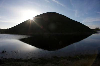Silbury Hill - surrounded by water