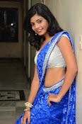 Bindhu latest sizzling saree pics-thumbnail-5