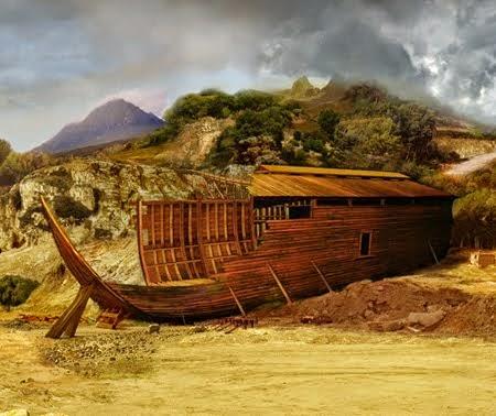 Dr Denis Gril - Le voyage du salut ou le voyage de Noé - Sur lui la paix
