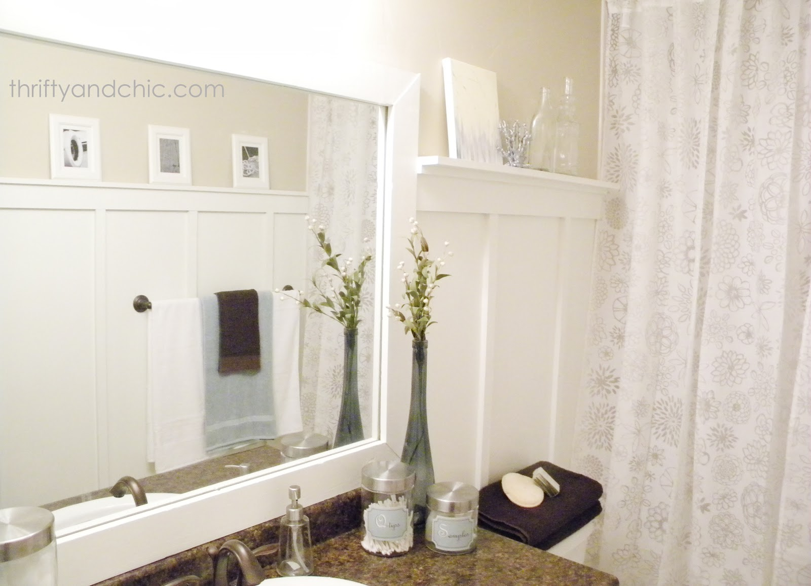 Thrifty and chic diy projects and home decor for Bathroom makeovers
