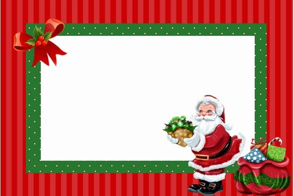 Fazendo a propria festa kit personalizados tema natal - Postales navidenas originales ...
