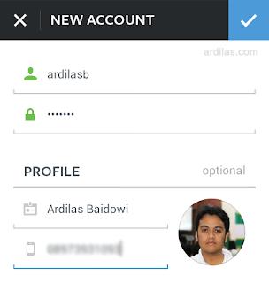 Isi data username password foto profil - Bagaimana Cara Mendaftar/Membuat Akun Di Instagram