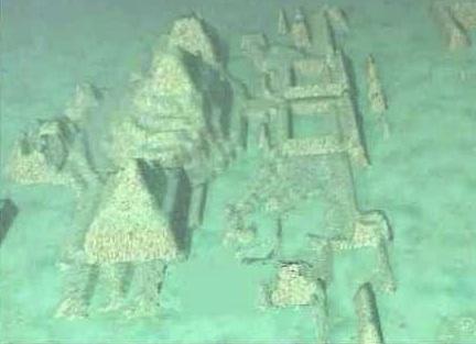 Atlantis: Las esfinges y pirámides gigantes halladas en el triángulo de las bermudas, por fin al descubierto