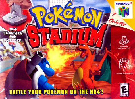 Pokemon Stadium 1 y 2 (Juegos 2014)