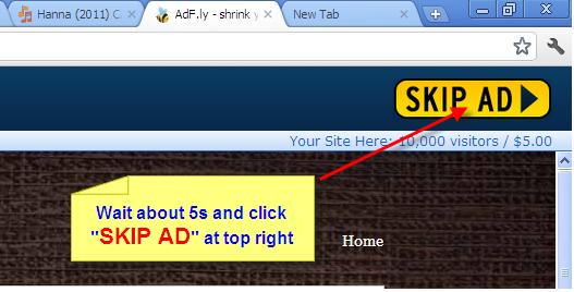 Click SKIP AD