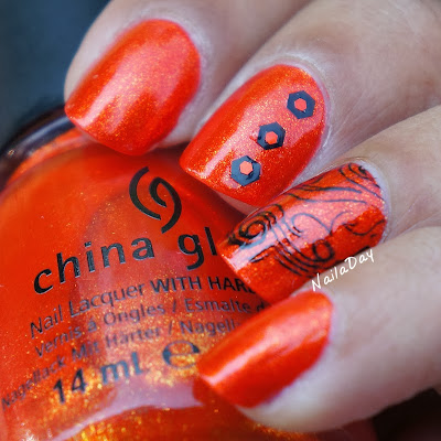 NailaDay: China Glaze Riveting Skittlette