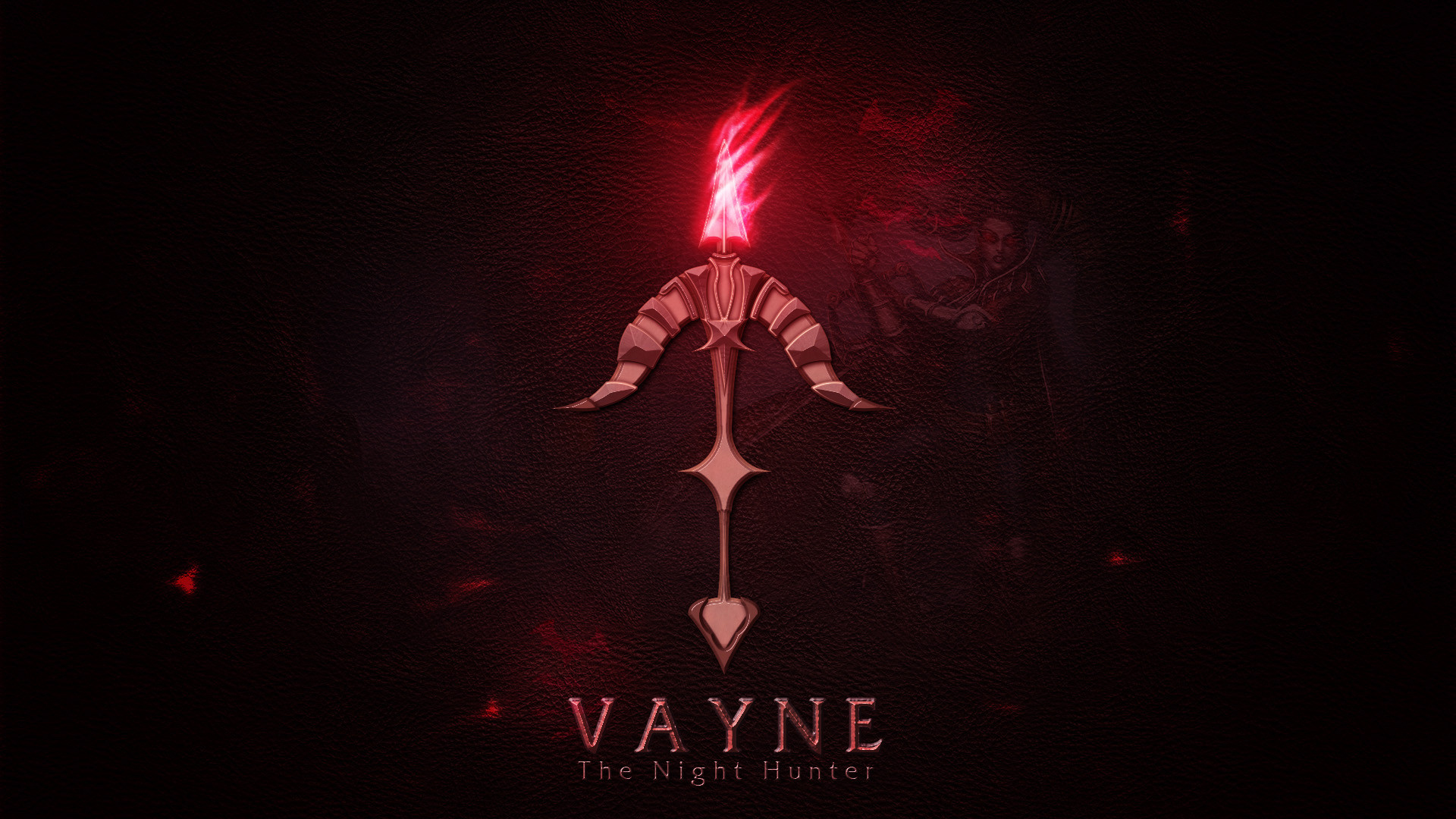 Vayne Icon LoL Wallpaper HD
