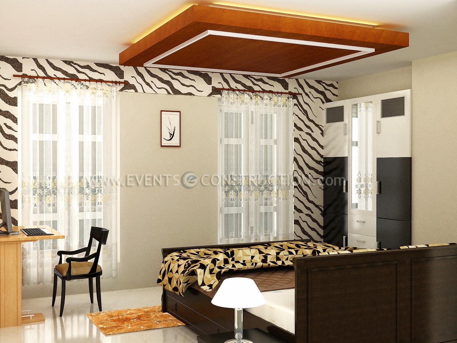 Evens construction pvt ltd kerala bedroom interior design for Villa interior designers ltd nairobi kenya